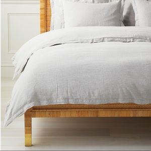 New Serena and lily Cavallo linen duvet cover